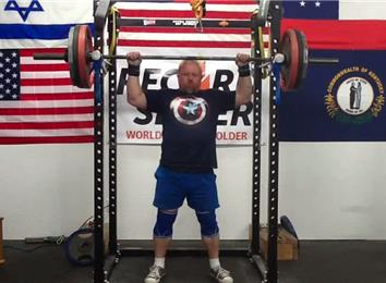 Heaviest Anderson Press (Athlete Under 235 Lbs.)